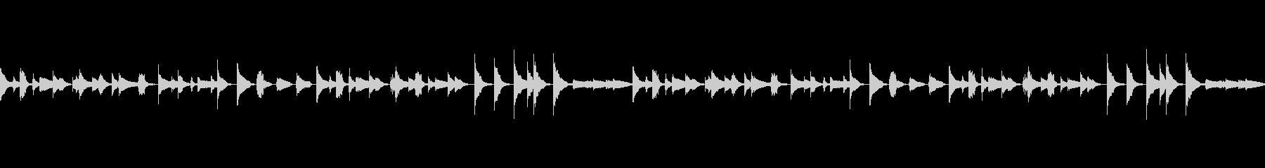 木琴とピアノほのぼの可愛いループBGMの未再生の波形