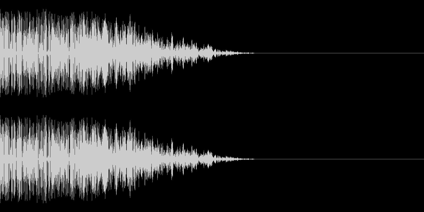 シャキーン(クリティカルヒット/斬撃)の未再生の波形