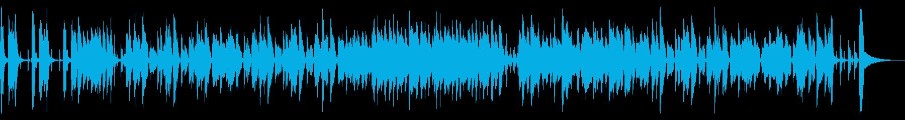 爽やかで軽快なポップジャズの再生済みの波形