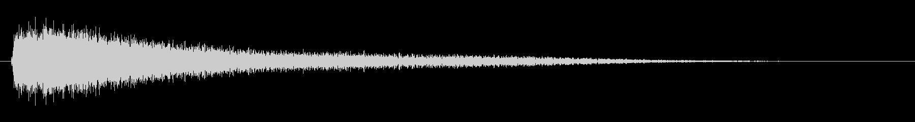効果音 サスペンス・ホラー・ドッキリの未再生の波形