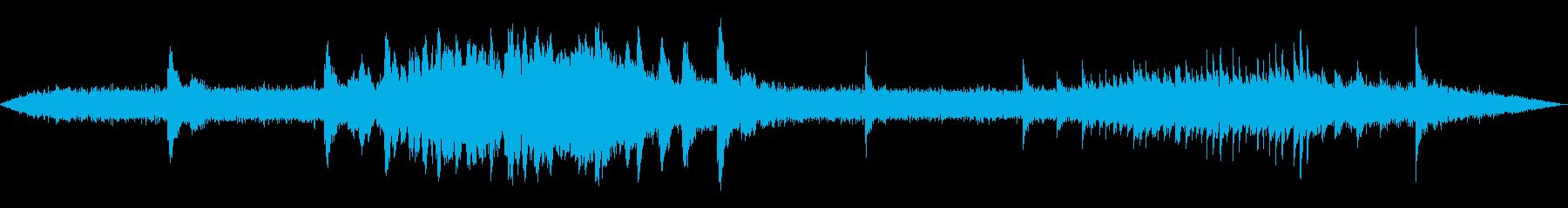 極寒のイメージ(30秒)の再生済みの波形