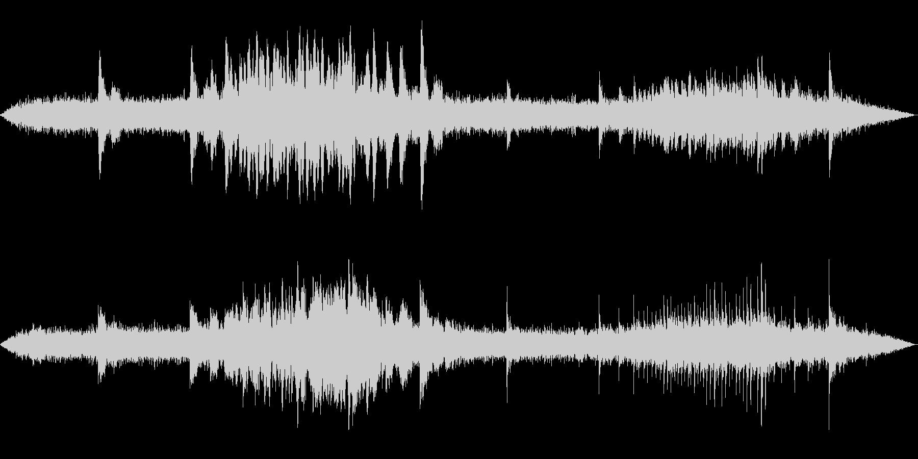 極寒のイメージ(30秒)の未再生の波形