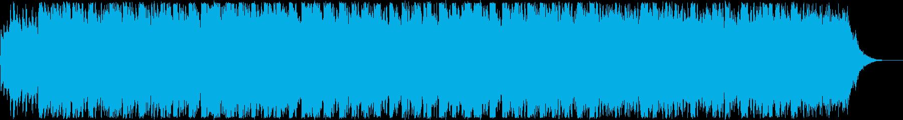 CM・おしゃれな洋楽EDMの再生済みの波形