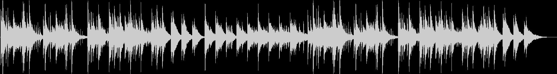 切ないメロディの新感覚ヒーリングピアノの未再生の波形