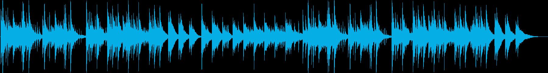 切ないメロディの新感覚ヒーリングピアノの再生済みの波形