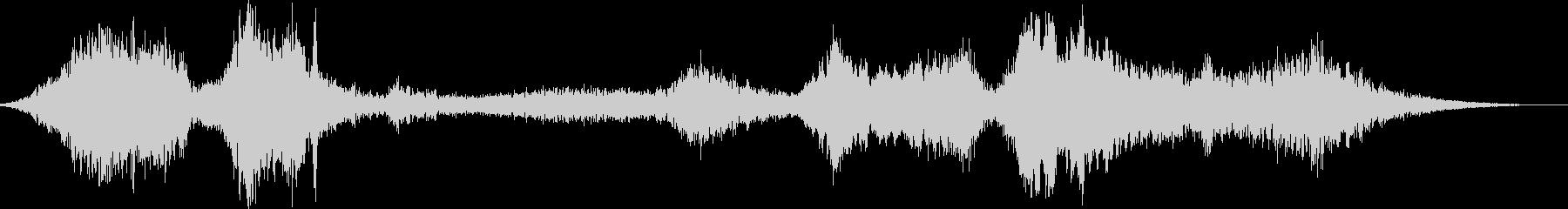 【シンセサイザー】 SFX 環境音 33の未再生の波形