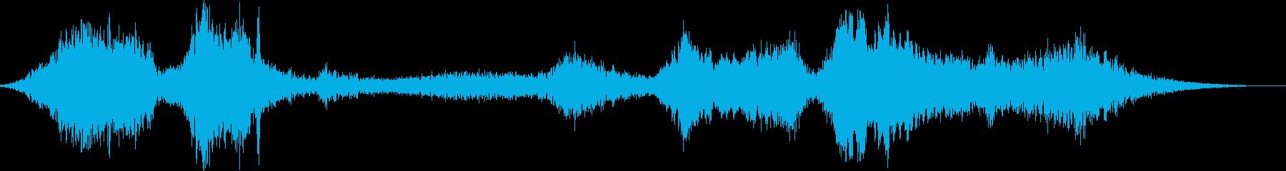 【シンセサイザー】 SFX 環境音 33の再生済みの波形