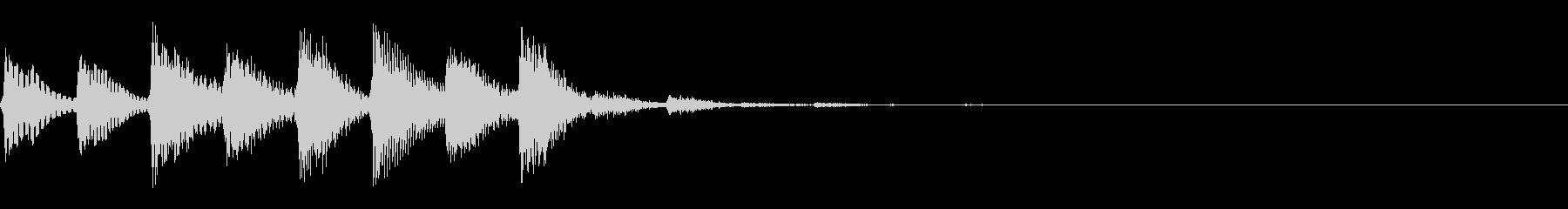 パラララ(ファミコン/テクノ/幻想的#3の未再生の波形