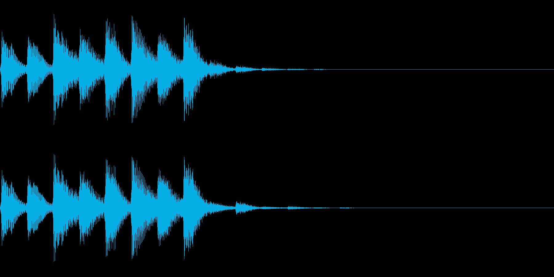 パラララ(ファミコン/テクノ/幻想的#3の再生済みの波形