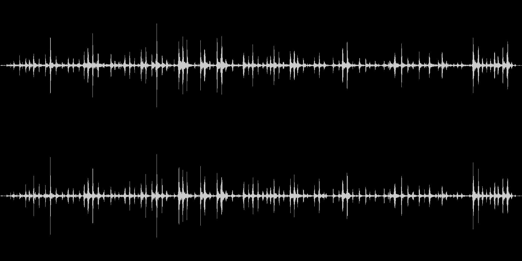 【ASMR】波打ち際から聞こえる静かな音の未再生の波形