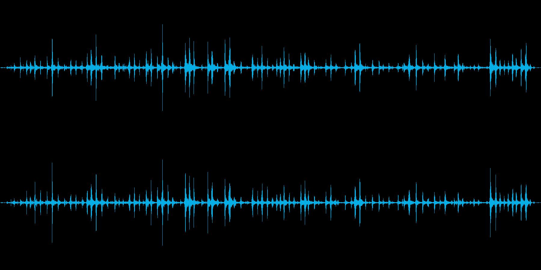 【ASMR】波打ち際から聞こえる静かな音の再生済みの波形