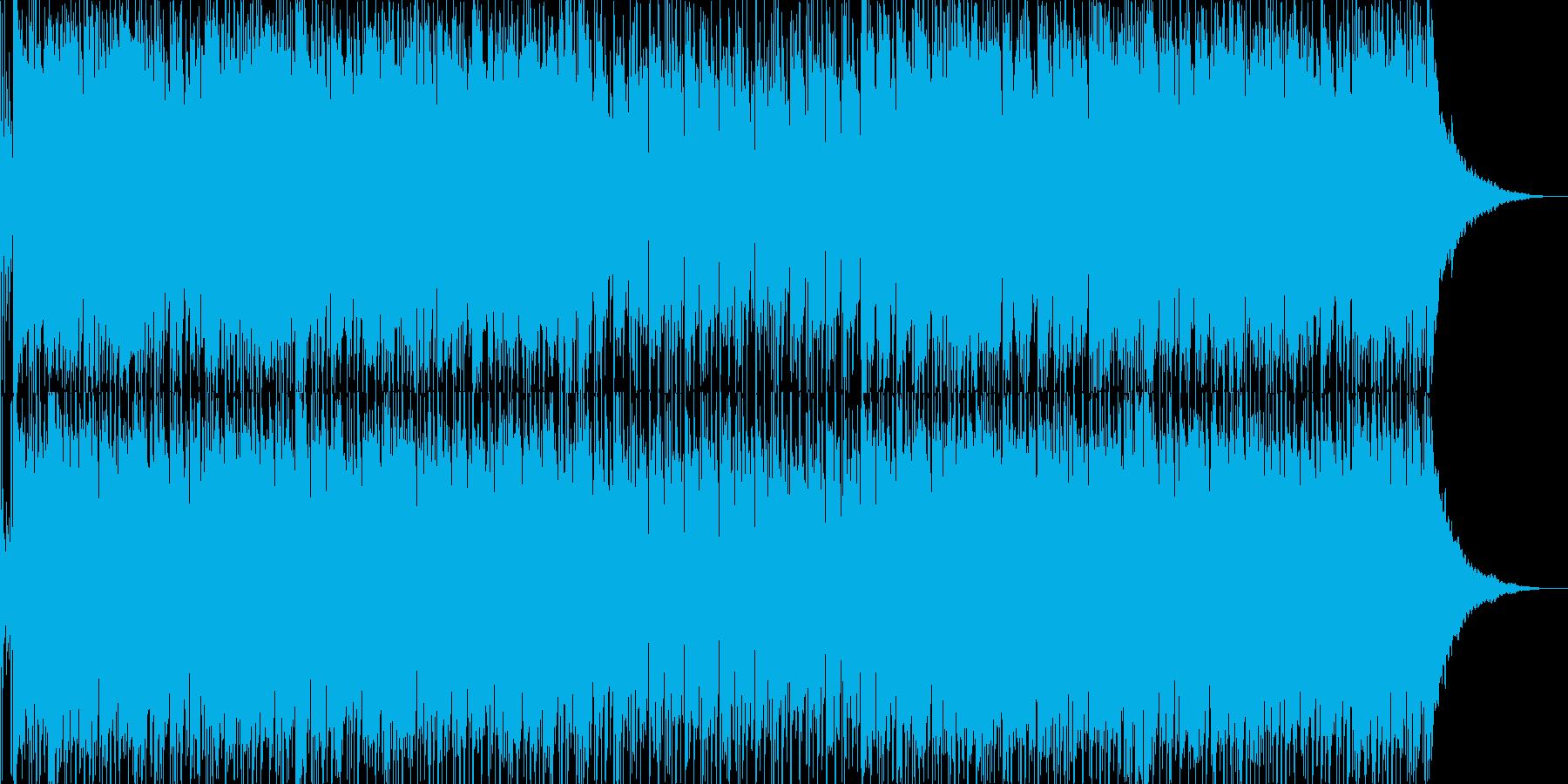 フュージョン風明るいポップス03の再生済みの波形