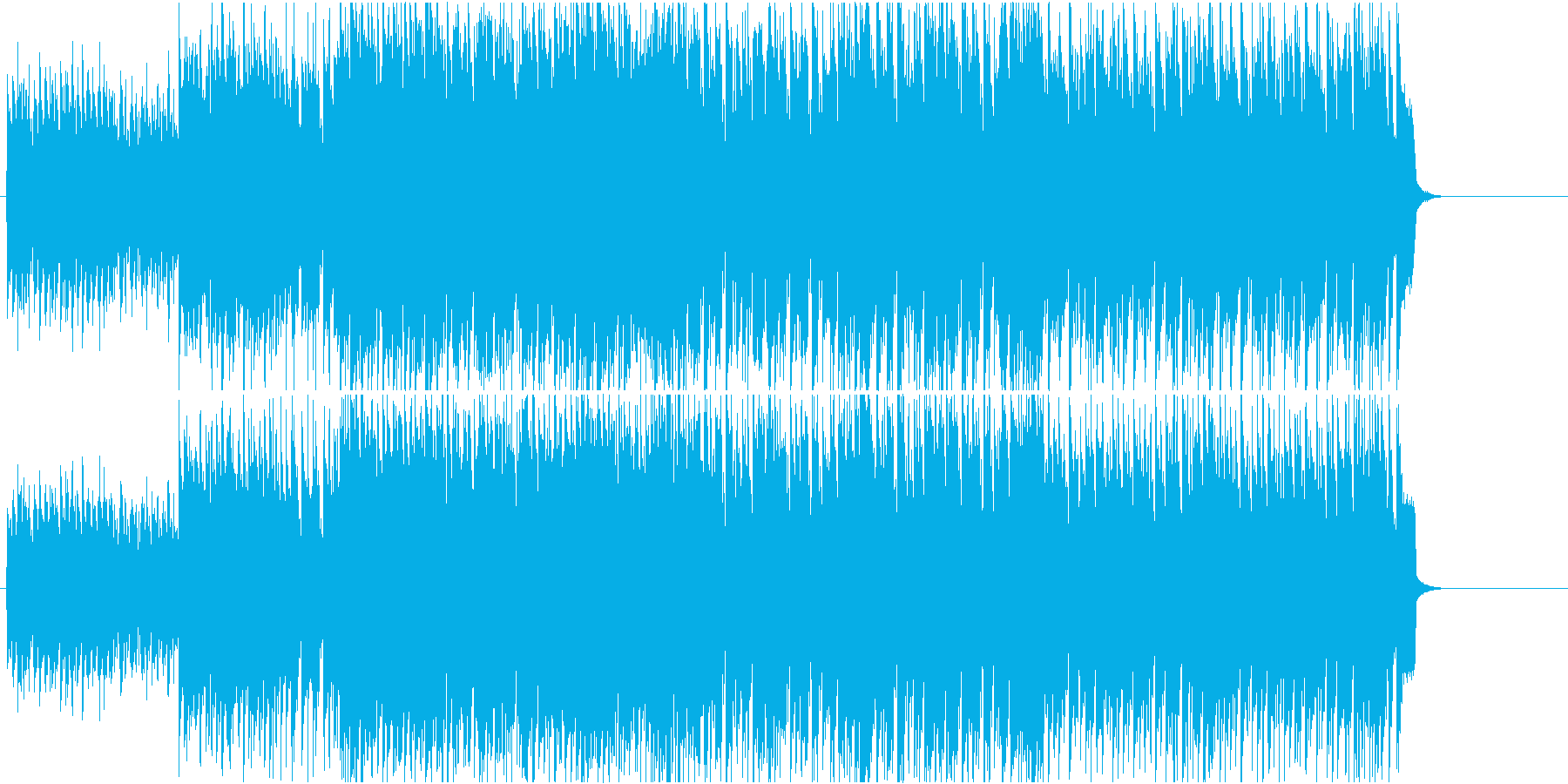 いきいき はつらつ 元気 情報 充実の再生済みの波形