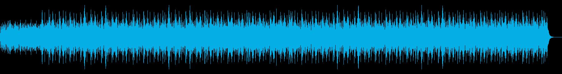 和風・琴・優しい・ヒップホップの再生済みの波形