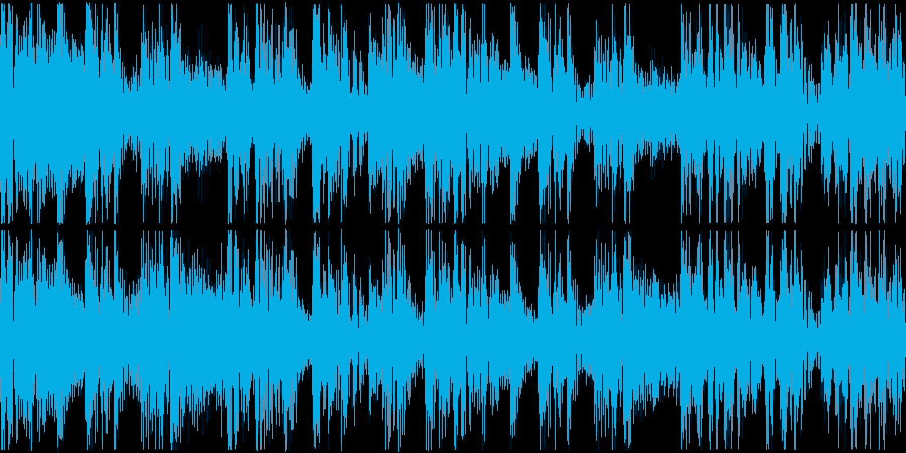 ループ。リズムマシーン打ち込み。の再生済みの波形