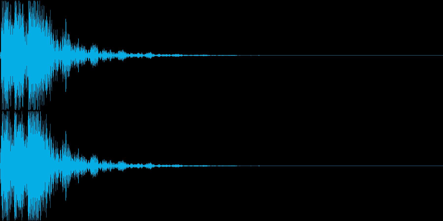 [[デレレン]] 和太鼓、箏、三味線の再生済みの波形