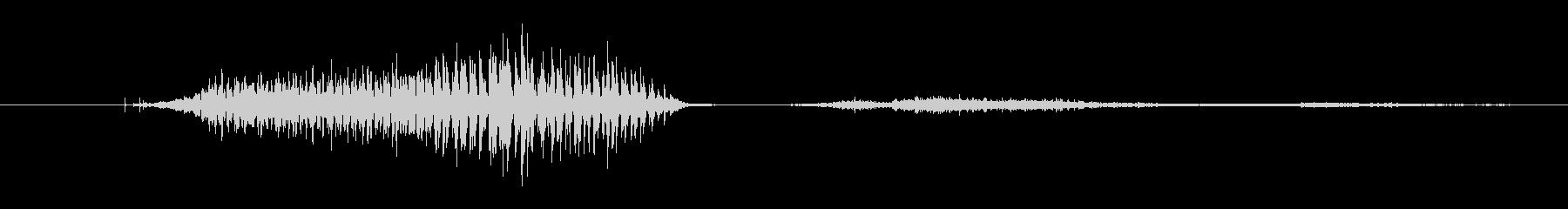 鳴き声 ビッググランティングナーリ...の未再生の波形