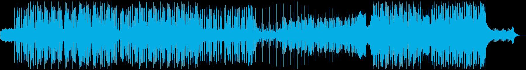 ちょっと怪しい和風なHipHopの再生済みの波形