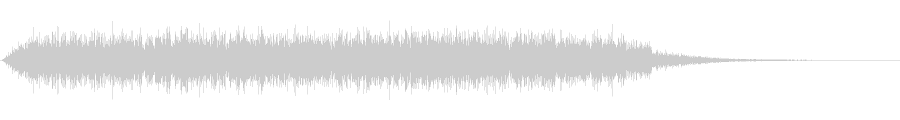 latigo 7をシューッという音の未再生の波形