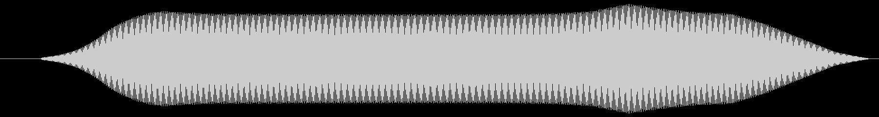 リモコン(スイッチボタン 電子音)ピッ①の未再生の波形