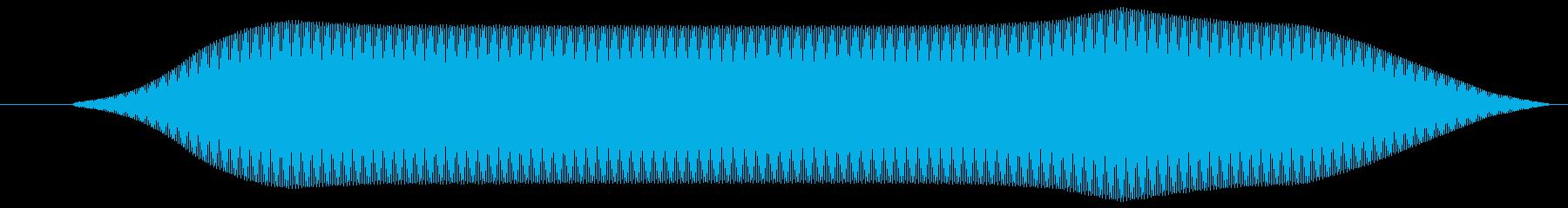 リモコン(スイッチボタン 電子音)ピッ①の再生済みの波形