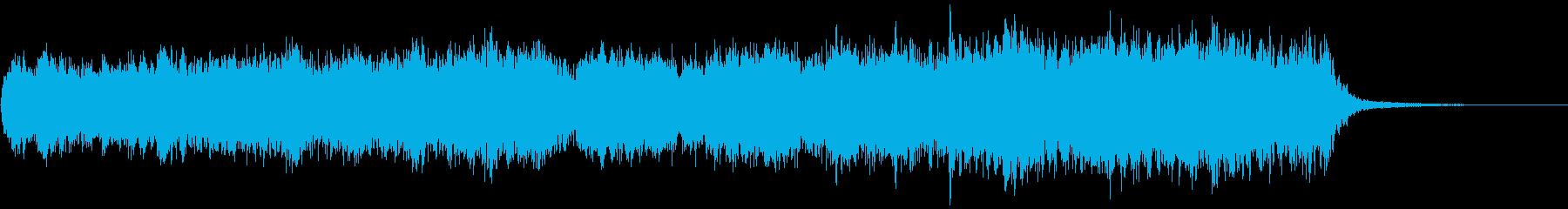 ガチャ・召喚・宝箱等に最適な神秘的BGMの再生済みの波形