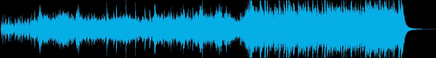 壮大なファンタジー調オーケストラの再生済みの波形