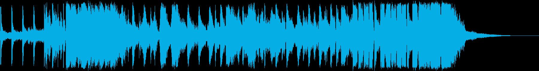 【生演奏】ファンキーなブラス隊のジングルの再生済みの波形