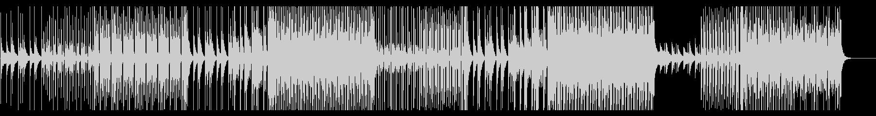 疾走感のある楽曲/トロピカルハウスの未再生の波形