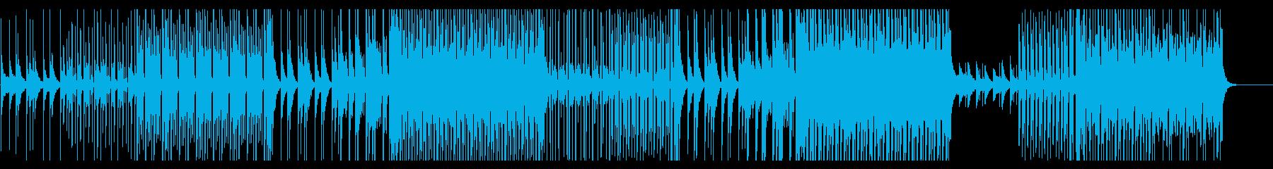疾走感のある楽曲/トロピカルハウスの再生済みの波形