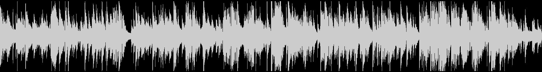 ソフトな音色のスロージャズ ※ループ版の未再生の波形