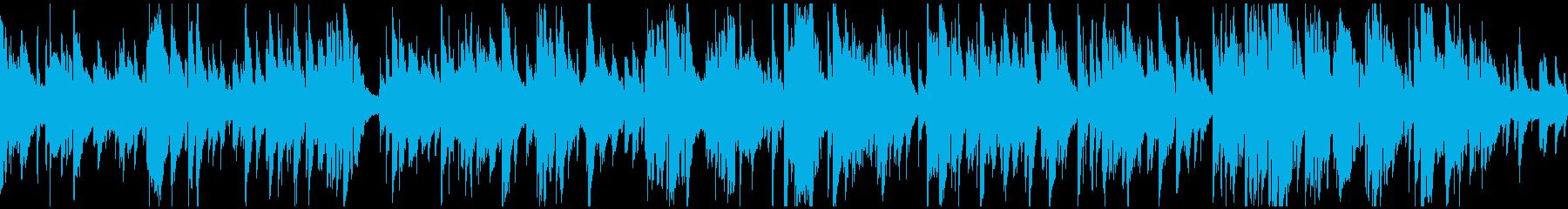ソフトな音色のスロージャズ ※ループ版の再生済みの波形
