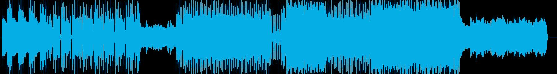 「HR/HM」「DARK系」BGM19の再生済みの波形