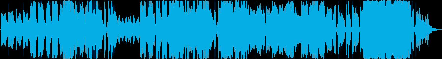 子守歌の様な混声のゆったりとしたピアノ曲の再生済みの波形