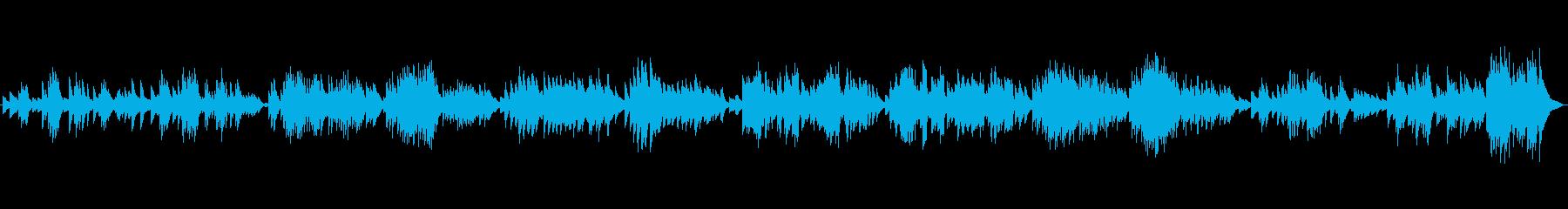 感情的でソウルフルなピアノのワルツ...の再生済みの波形