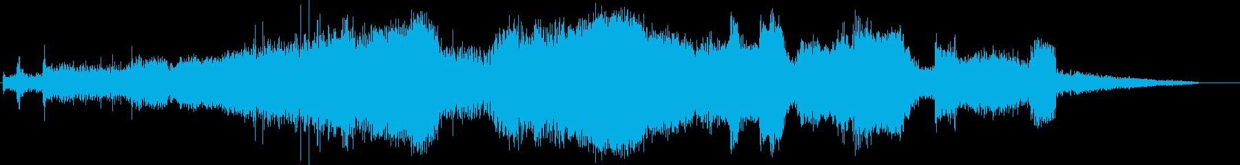 トラック;スタート/アウェイ;プジ...の再生済みの波形