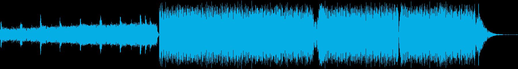 地下アイドル登場,カウントダウンボイス入の再生済みの波形