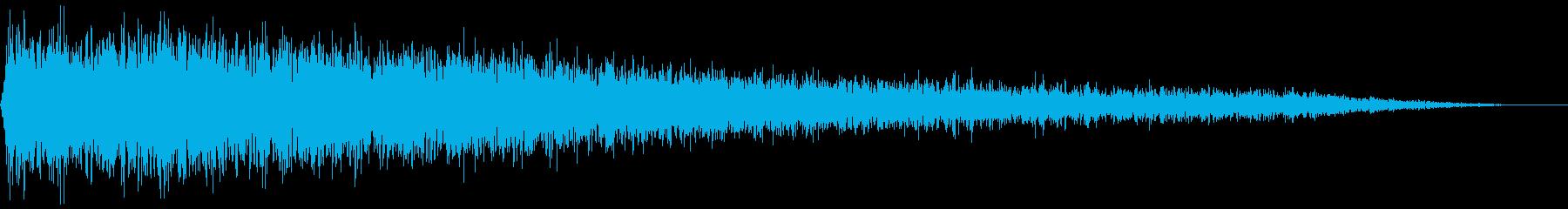 【ダーク】ホラー・サウンドスケイプ_05の再生済みの波形