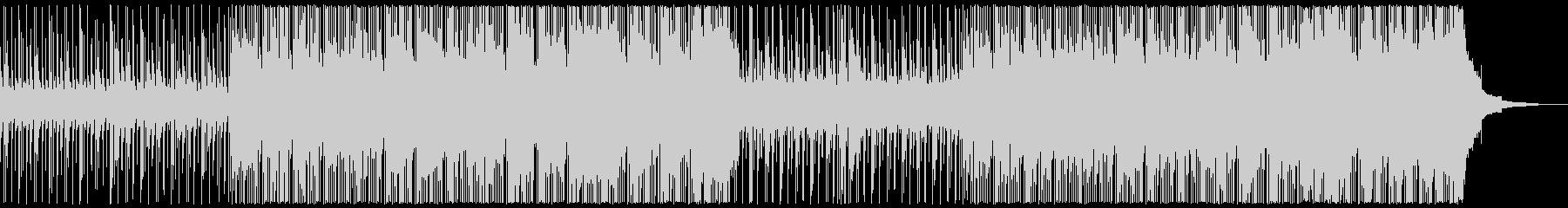 楽しいインディーポップの未再生の波形
