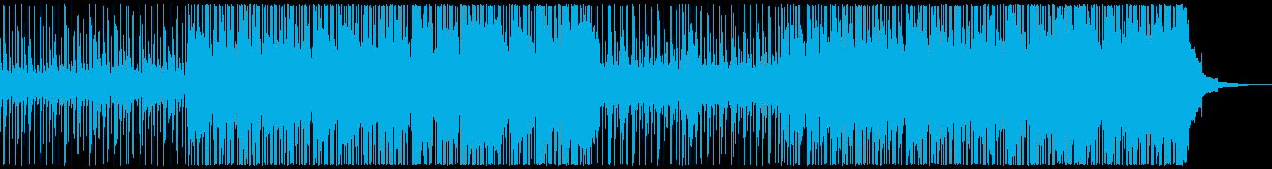 楽しいインディーポップの再生済みの波形