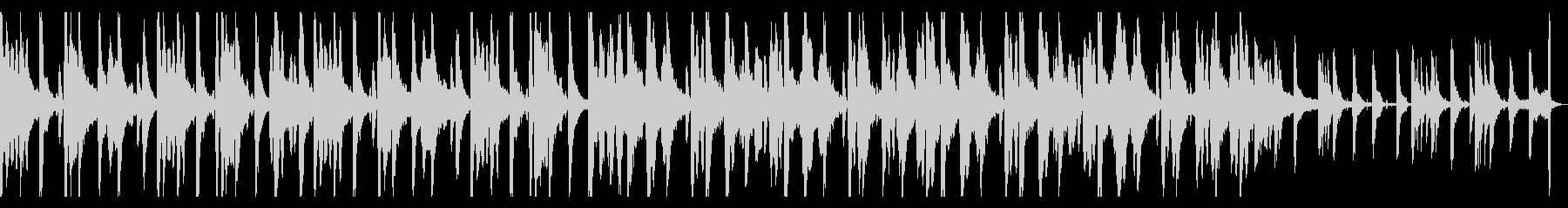 のほほんファンシー kawaii BGMの未再生の波形