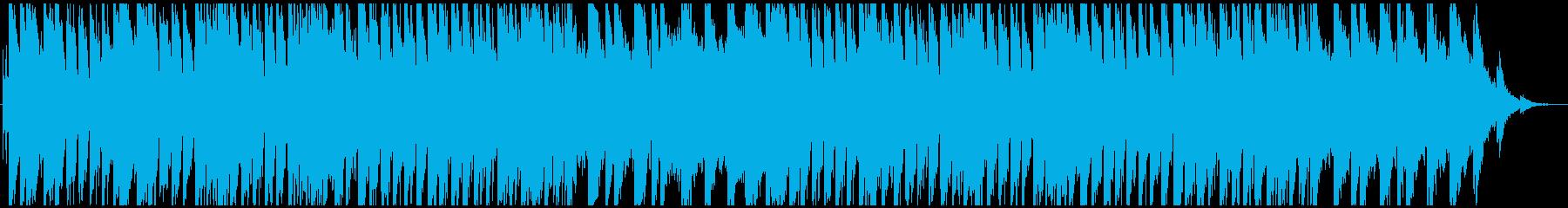 しっとり、ゆったり、琴が奏でる和風BGMの再生済みの波形