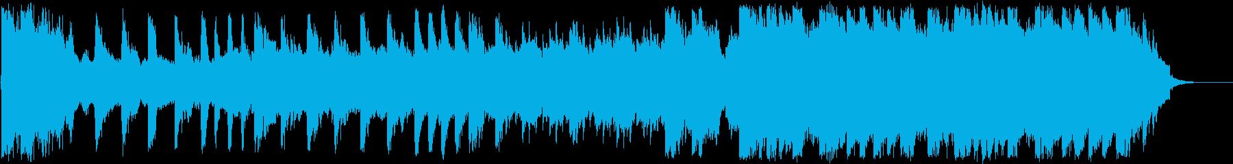 ノスタルジックで感動的なクラシックの再生済みの波形