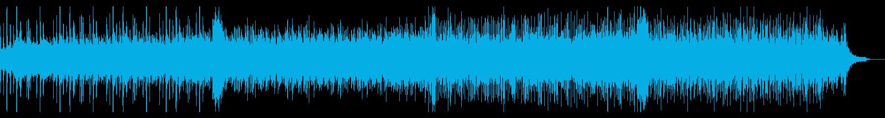 ダークなアンビエントIDMの再生済みの波形