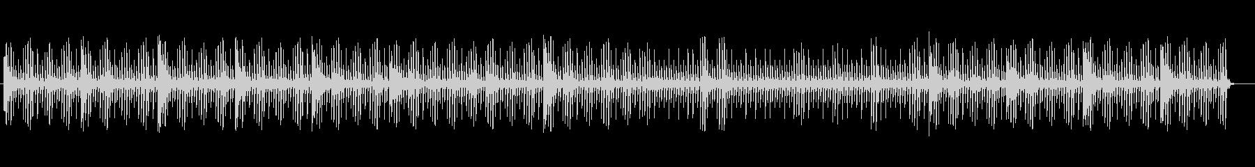 ヒーリングミュージックなテクノの未再生の波形