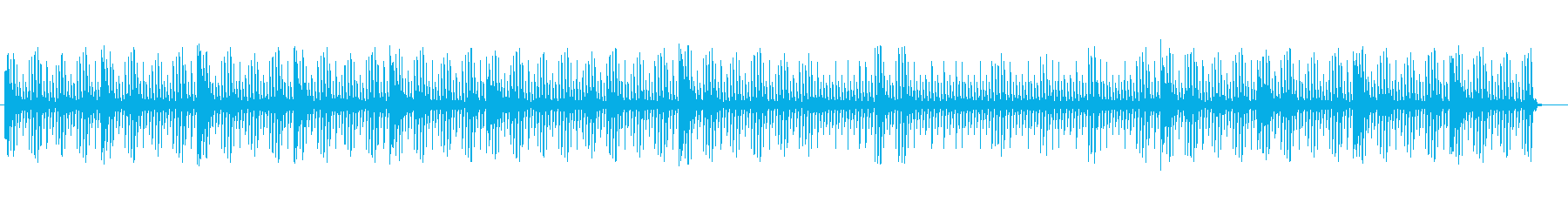 Healing music techno's reproduced waveform