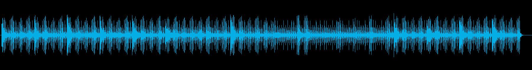 ヒーリングミュージックなテクノの再生済みの波形