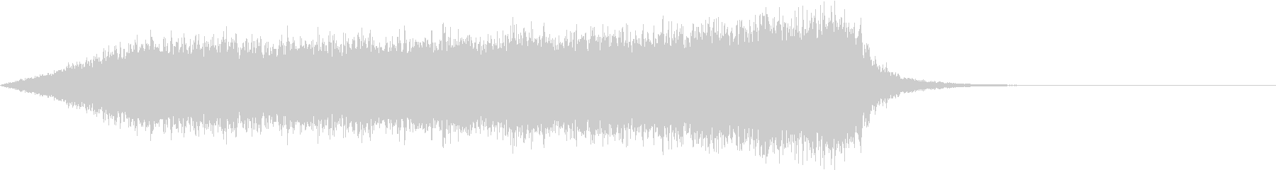 CINEMATIC RISER_43の未再生の波形