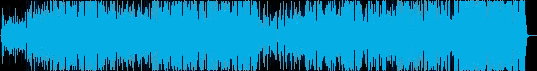 ギターソロが特徴的なファンクサウンドの再生済みの波形