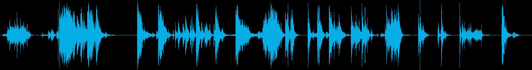 ジャンクボックスに入れるの再生済みの波形